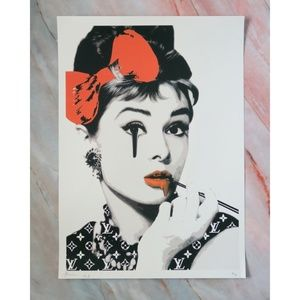 Other - Audrey Hepburn Graffiti Pop Art Print